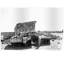 Silverton Ruins Poster