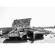Silverton Ruins Photographic Print