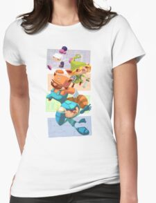 Megabomberbroszelda Womens Fitted T-Shirt