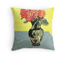 Mothers Day A rose is a rose is  Throw Pillow