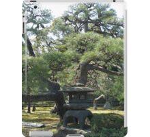 Japanese garden and pagoda iPad Case/Skin