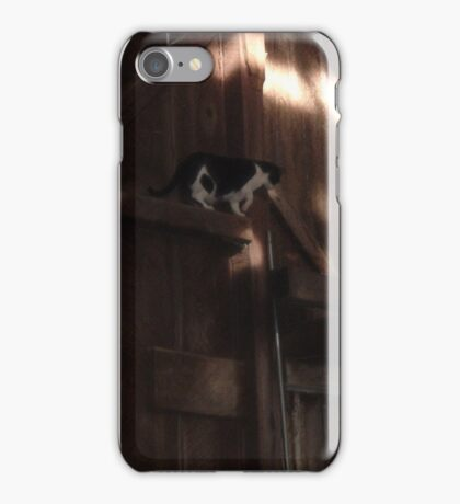 Ranch Cat in the Rafters iPhone Case/Skin