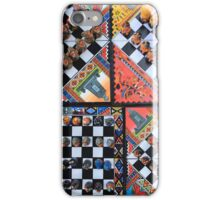Colorful Chess Sets iPhone Case/Skin