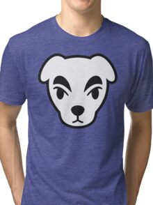 KK SLIDER ANIMAL CROSSING Tri-blend T-Shirt