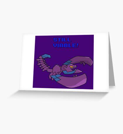 Skarner is still Viable Greeting Card