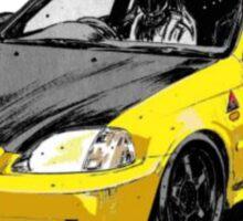 Initial D Honda Civic Type R Sticker