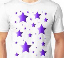 Purple Stars Unisex T-Shirt