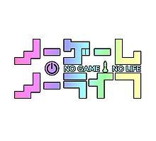 No Game No Life Logo ~ Rainbow Gradient  by mixiemoon