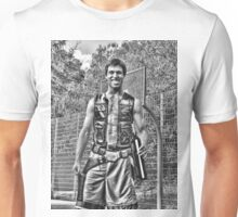 Han Solo on the Court with Party Decanter Unisex T-Shirt