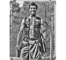 Han Solo on the Court with Party Decanter iPad Case/Skin