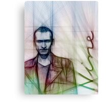 The Ninth Doctor, Doctor Who Chris Eccleston  Canvas Print