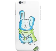 Knitting Bunny iPhone Case/Skin