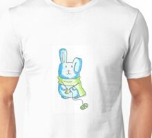 Knitting Bunny Unisex T-Shirt