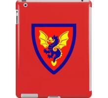 LEGO Castle - Black Knights Shield iPad Case/Skin