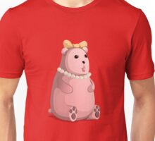 Cute Little Pink Teddy Bear with Bow Tie Unisex T-Shirt