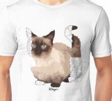 Geometric Animal - Munchkin Cat Unisex T-Shirt