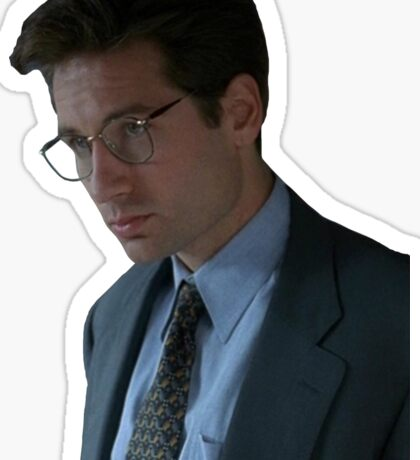 Fox Mulder - The X-Files Sticker