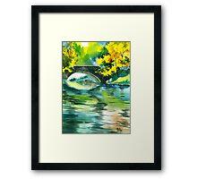 Floods R Framed Print
