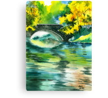 Floods R Canvas Print