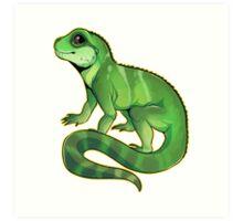 Chinese Water Dragon Art Print