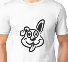 dog funny cute naughty Unisex T-Shirt