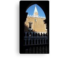 St. Mark's Campanile from Doge's Palace Canvas Print