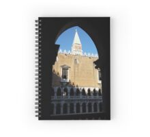 St. Mark's Campanile from Doge's Palace Spiral Notebook