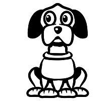 funny cute dog by Motiv-Lady