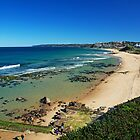 Crystal clear day at Bar Beach by Liz Percival
