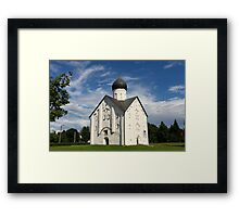 Russian church Framed Print