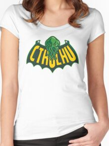 Cthulhu Man Women's Fitted Scoop T-Shirt