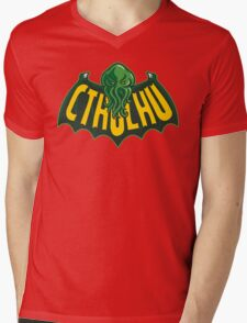 Cthulhu Man Mens V-Neck T-Shirt