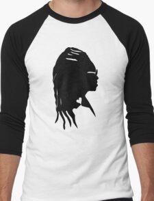 Black Storm Men's Baseball ¾ T-Shirt