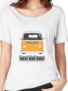 Best Dad Ever Orange Early Bay Women's Relaxed Fit T-Shirt