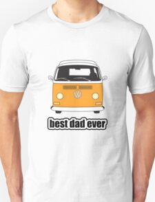 Best Dad Ever Orange Early Bay T-Shirt