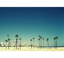 Summer Beach Blue Photographic Print