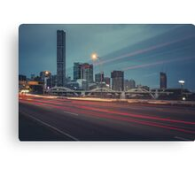 Brisbane from Coronation Drive Canvas Print