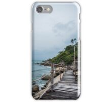 Beach Walkway  iPhone Case/Skin