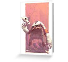 Decap Attack Greeting Card