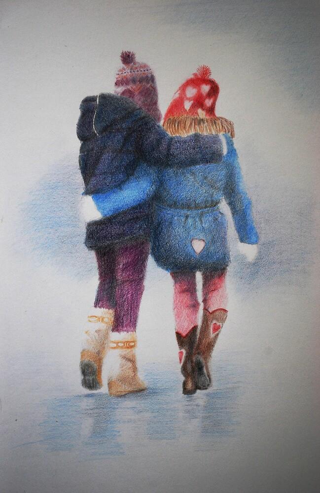 WINTER WALK by Lynn Hughes