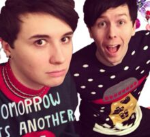 Tomorrow Is Another Chance: Dan & Phil Edit Sticker