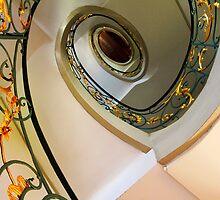 Art Nouveau Staircase 2  Berlin by Angelika  Vogel