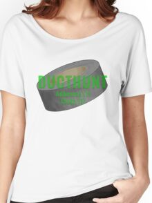 DUCT HUNT Women's Relaxed Fit T-Shirt