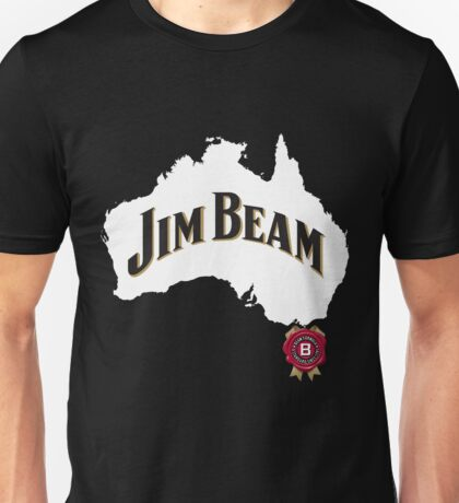 jim beam aussie Unisex T-Shirt