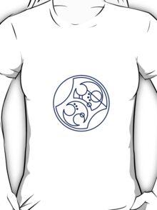 'Bad Wolf' in Gallifreyan - Blue T-Shirt