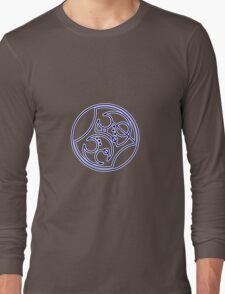 'Bad Wolf' in Gallifreyan - Blue T-Shirt