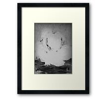 Abstract in Nature Shadows Framed Print