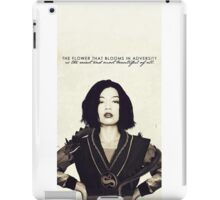 flower that blooms iPad Case/Skin