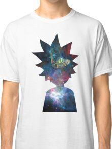 Rick and Morty Space Ship Classic T-Shirt