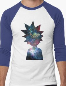 Rick and Morty Space Ship Men's Baseball ¾ T-Shirt